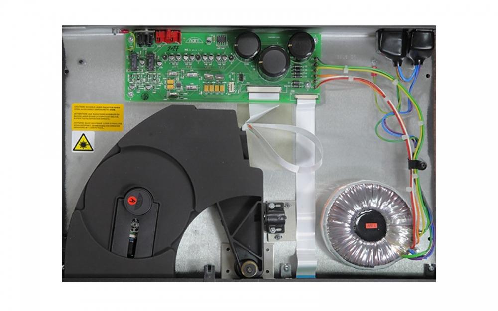 Naim CD5si CD-lejátszó belső