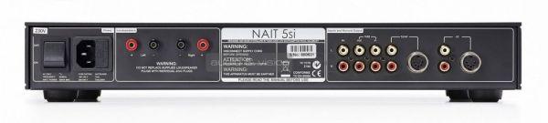 Naim NAIT 5si sztereó erősítő hátlap