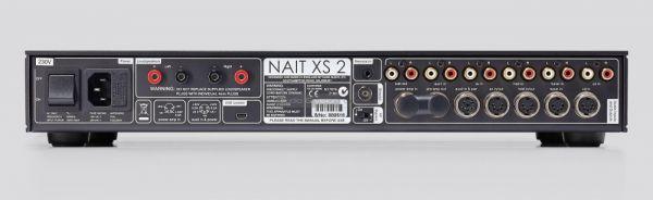 Naim Nait XS2 integrált sztereó erősítő hátlap