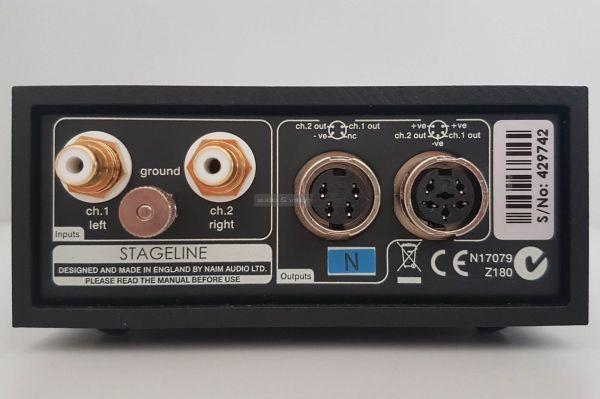 Naim StageLine phono előfok hátlap