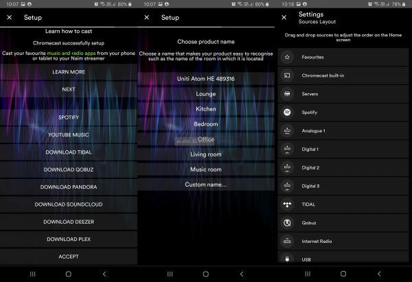 Naim Uniti Atom Headphone Edition fejhallgató erősítő App
