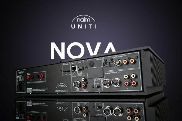 Naim Uniti Nova all in one hifi rendszer hátlap