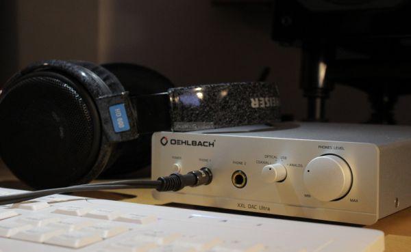 Oehlbach XXL DAC Ultra fejhallgató erősítő