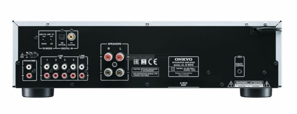 Onkyo A-9010 integrált sztereó erősítő hátlap