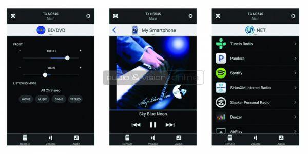 Onkyo CR-N765 hálózati CD-lejátszós mini hifi teszt Applikáció
