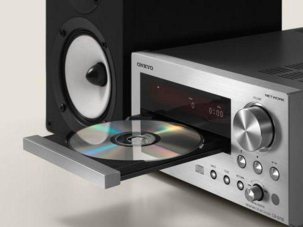 Onkyo CR-N765 hálózati CD-lejátszós mini hifi teszt