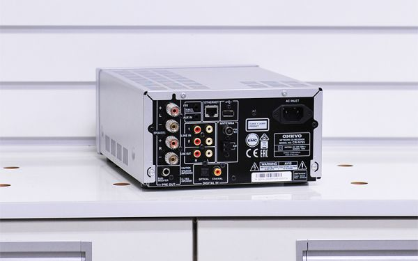Onkyo CR-N765 mini hifi rendszer hátlap