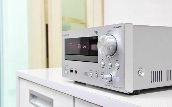 Onkyo CR-N765 mini hifi rendszer hálózati lejátszóval