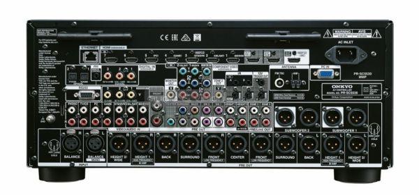 Onkyo PR-SC5530 Dolby Atmos házimozi processzor hátlap