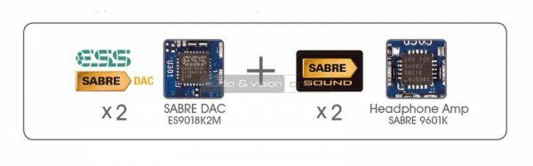 Onkyo DP-X1 mobil hifi lejátszó Sabre DAC-ok és erősítők