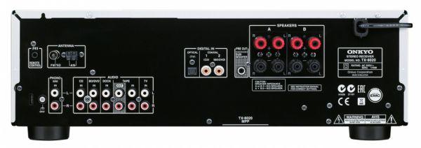 Onkyo TX-8020 hátlap