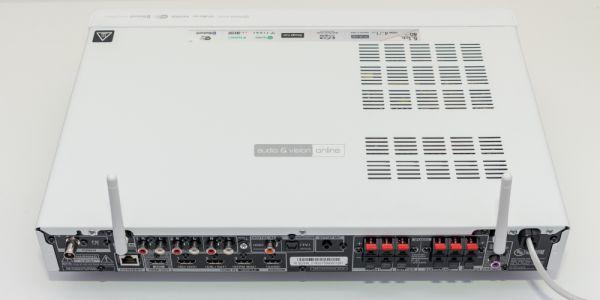Onkyo TX-L50 házimozi erősítő hátlap