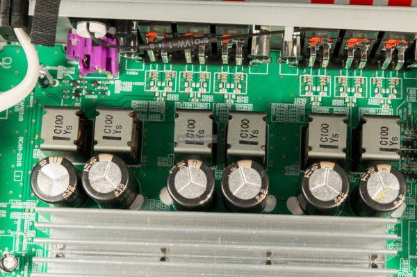 Onkyo TX-L50 házimozi erősítő belső
