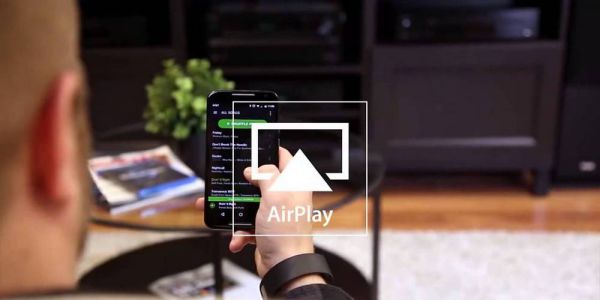 Onkyo AirPlay streemelés