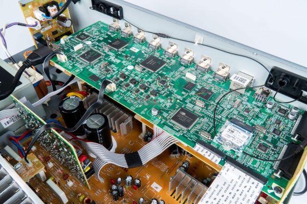 Onkyo TX-NR686 házimozi erősítő belső
