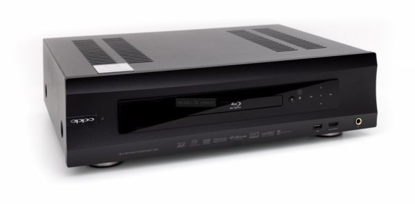 OPPO BDP-105D Audiocom Signature tuning Blu-ray lejátszó