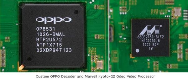 OPPO BDP-93EU chipsets