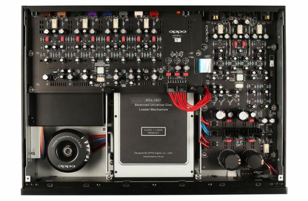 OPPO UDP-205 4K Blu-ray lejátszó belső