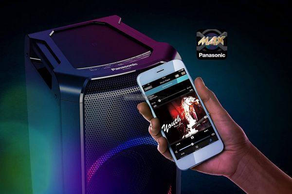 Panasonic SC-TMAX5 parti hangszóró App