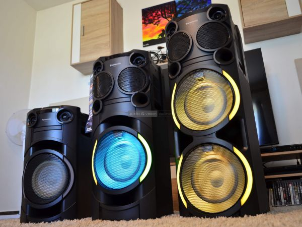 Panasonic SC-TMAX hangszórók