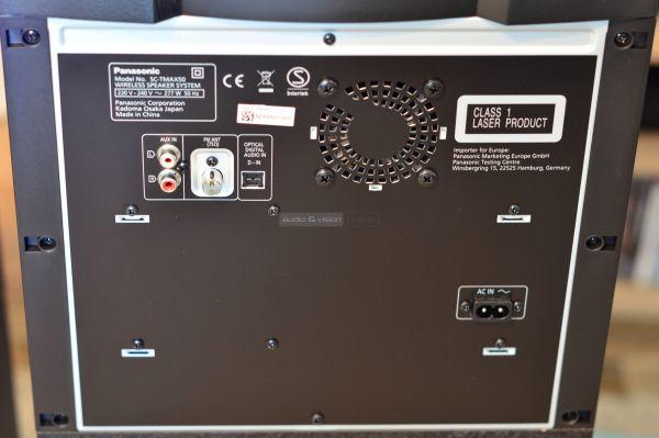 Panasonic SC-TMAX50 hangszóró hátlap