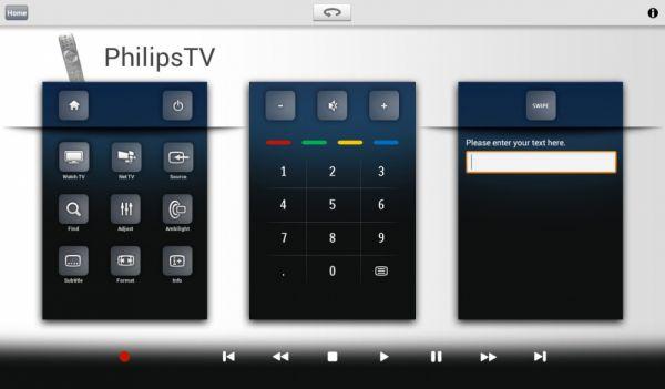 Távvezérlés Android tabletről
