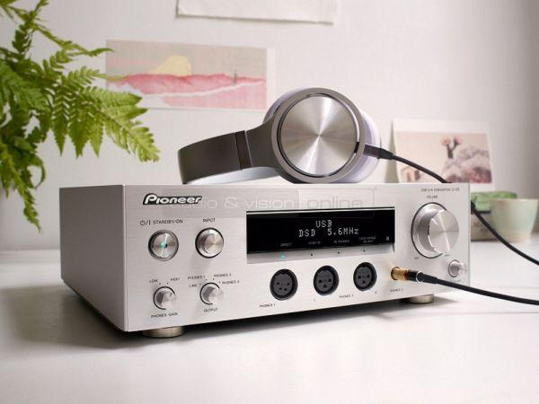 Pioneer U-05 USB DAC és fejhallgató erősítő