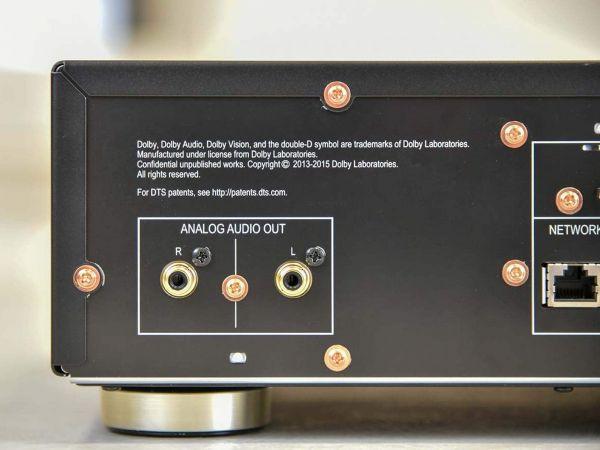 Pioneer UDP-LX500 Blu-ray lejátszó hátlap