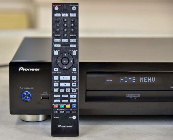 Pioneer UDP-LX500 Blu-ray lejátszó távirányító