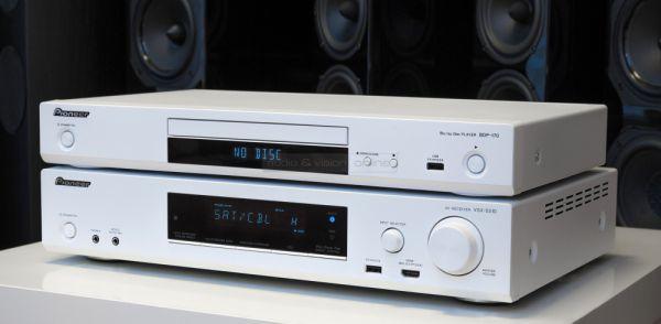 Pioneer VSX-S510 házimozi erősítő és BDP-170 Blu-ray lejátszó