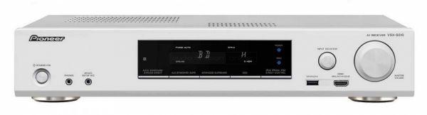 Pioneer VSX-S510 házimozi erősítő fehér színben