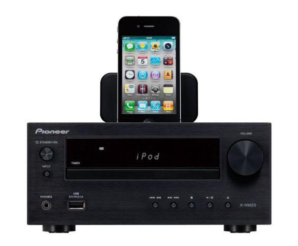 Pioneer X-HM20-K központi egység iPhone-al