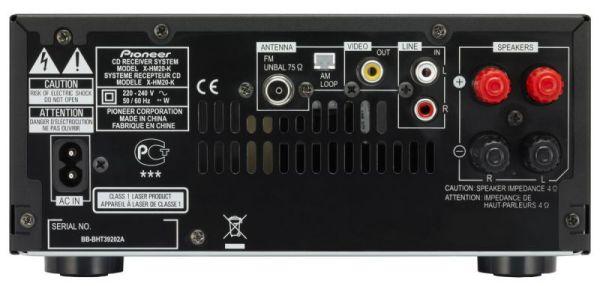 Pioneer X-HM20-K csatlakozók