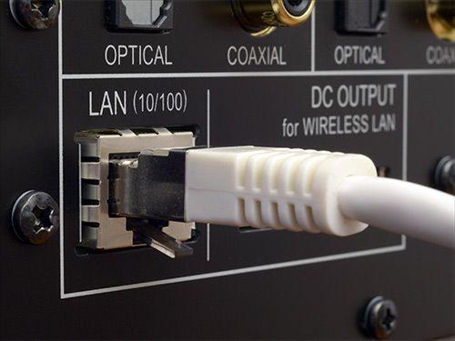 Pioneer N-50 hálózati médialejátszó LAN