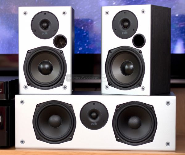 Polk Audio M10 háttérsugárzó és CSM centersugárzó