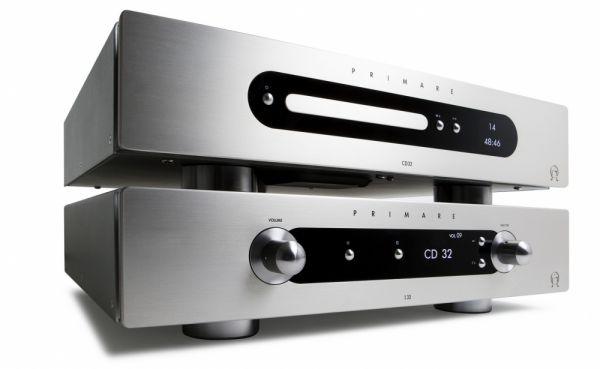 Primare I32 integrált sztereó erősítő és CD32 CD-lejátszó