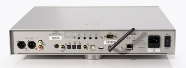 Primare NP30 hálózati audio lejátszó hátlap