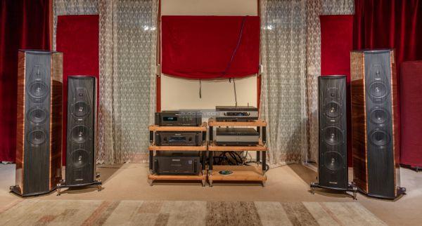 Primare PRE60 A60 és Sonus faber hangfalak az Audiophile Szalonban