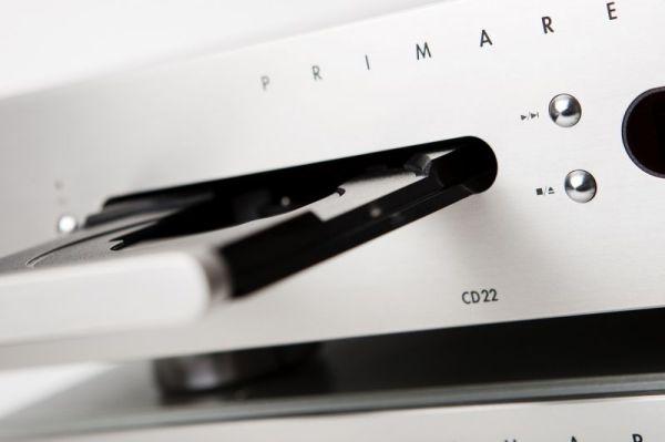 Primare CD22 CD-lejátszó nyitott lemez tálca