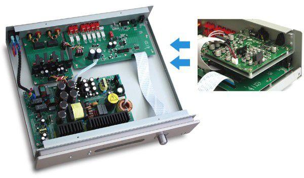 Primare I22 integrált sztereó eősítő DAC modullal