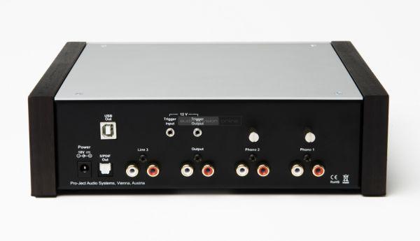 Pro-Ject Phono Box DS2 hátlap