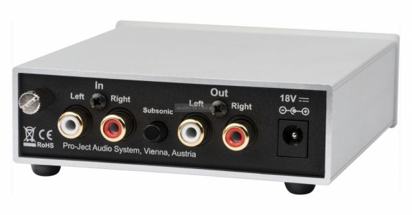 Pro-Ject Phono Box S2 hátlap
