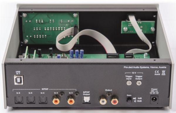 Pro-Ject DAC Box DS2 ultra belső
