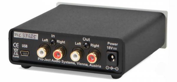 Pro-Ject Head Box S USB fejhallgató erősítő hátlap