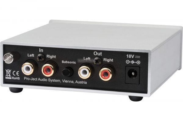 Pro-Ject Phono Box S2 phono előerősítő hátlap