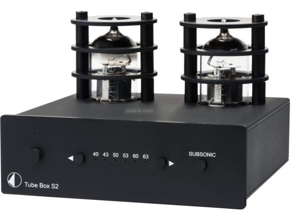 Pro-Ject Tube Box S2 csöves phono előerősítő