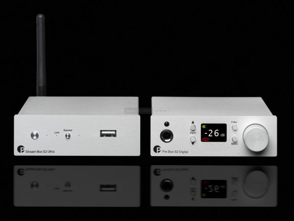 Pro-Ject Stream Box S2 Ultra és Pre Box S2 Digital