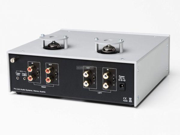 Pro-Ject Tube Box DS2 phono előerősítő hátlap