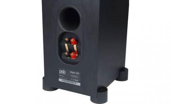 PSB Alpha T20 hangfal hátlap