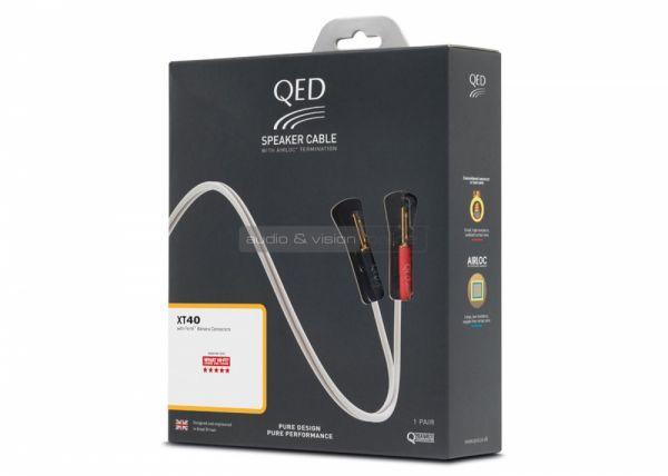 QED Reference XT40 hangfalkábel doboz